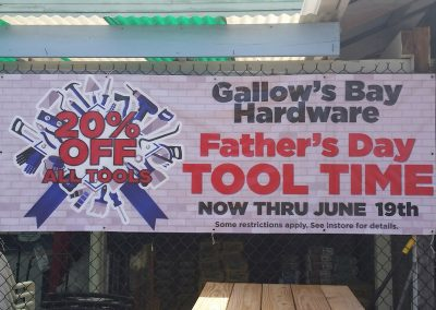 gallows bay hardware
